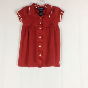 Ralph Lauren Girls Dress Size 18M
